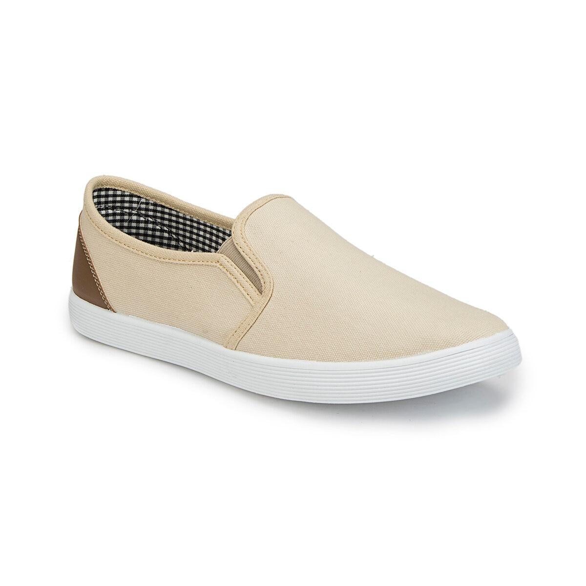 FLO 81.353984.M ベージュ男性の靴ポラリス
