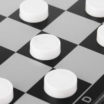 Checkers On A Magnet 24x24 Plastic Interesting Game Table Game