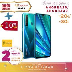 [Ufficiale Spagnolo Versione di Garanzia] Realme 5 Pro Smartphone mobile tag, 6.3 ''duro gb, 8 gb 128 gb di ROM Snapdragon octa core, Quad Camara