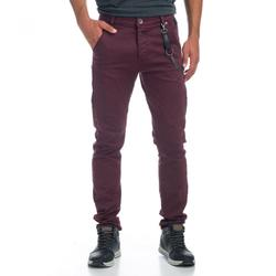 KOROSHI HOSE. LANGE SLIM FIT/LOW RISE MANN