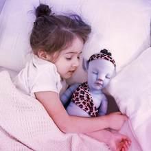 Rbg 20 polegadas avatar boneca renascer bebê dormindo vivo brinquedos de vinil silicone macio realista bebe surpresa lol presente para a menina 2021