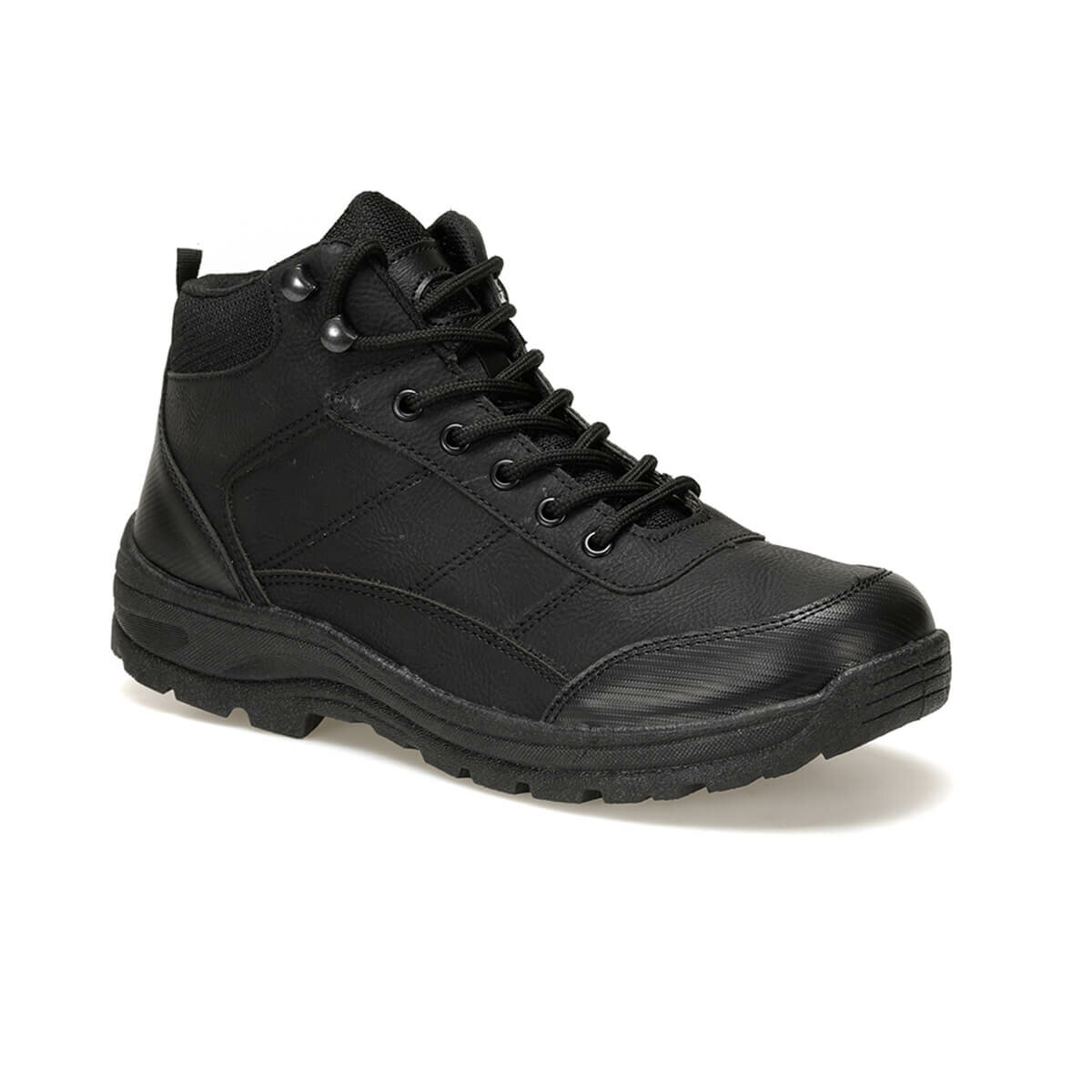 FLO EU-07 Black Men Boots Panama Club