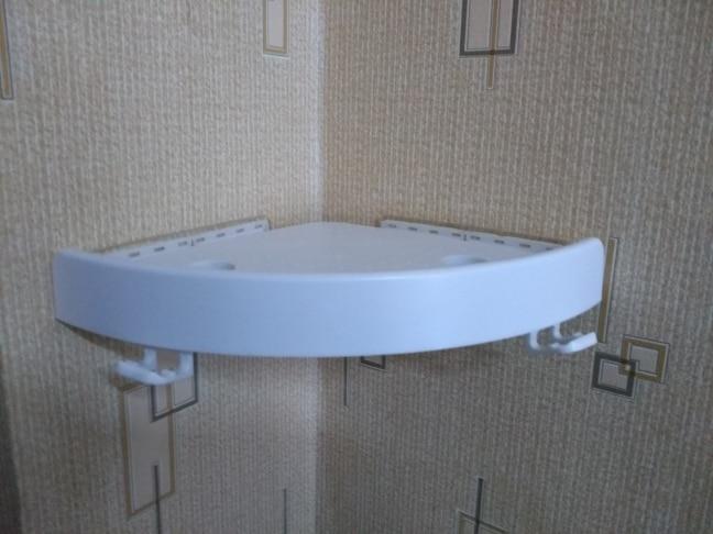 Floating Corner Wall Shelf photo review