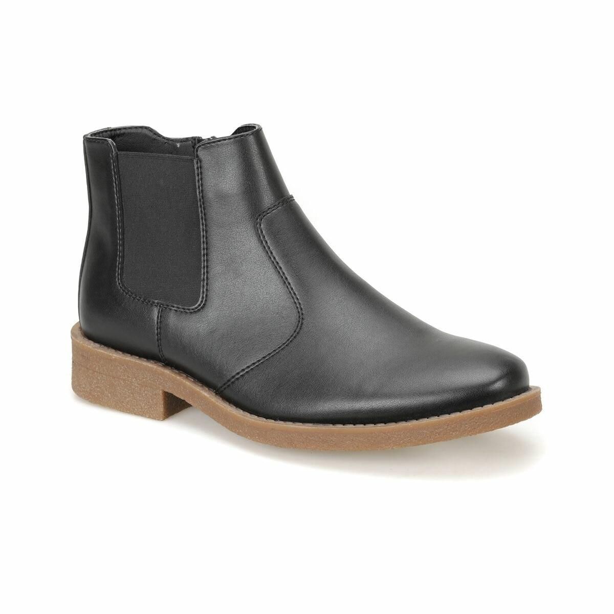 FLO 22945 Black Men Boots DOWN TOWN Basic Boots     - title=