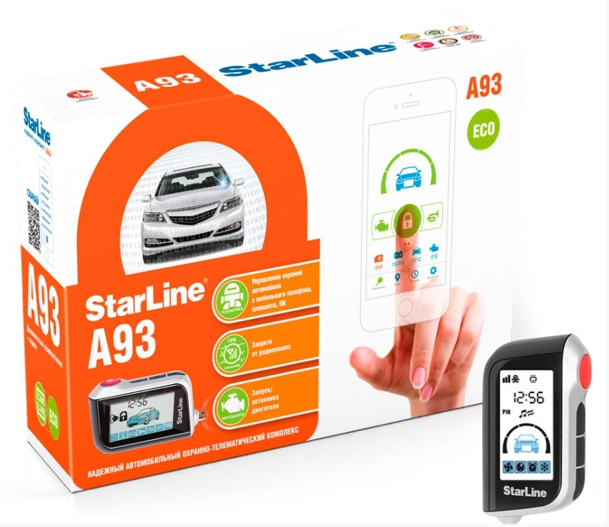 Car Alarm Starline A 93 2CAN + 2LIN GSM ECO