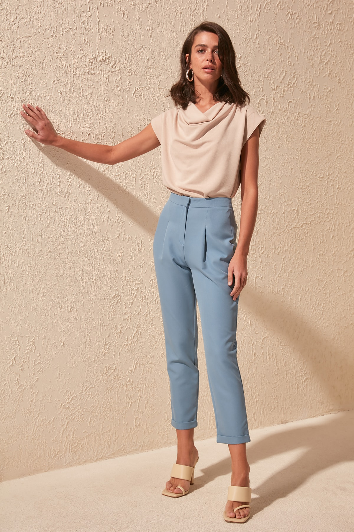 Trendyol Classic Pants TWOSS20PL0293
