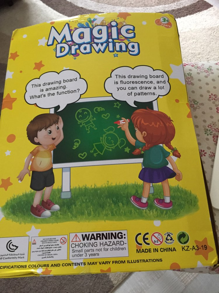 Magic LED Drawing Board for Kids photo review
