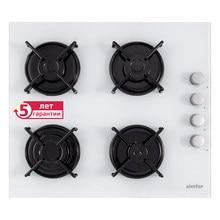 Встраиваемая Газовая варочная панель Simfer H60K40C000 газ-контроль автоподжиг