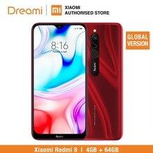Global Version Redmi 8 64GB ROM 4GB RAM (Brand New and Official) redmi8 64gb redmi864 Smartphone Mobile
