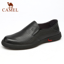 CAMEL New Fashion Comfortable Genuine Leather Men Shoes Form