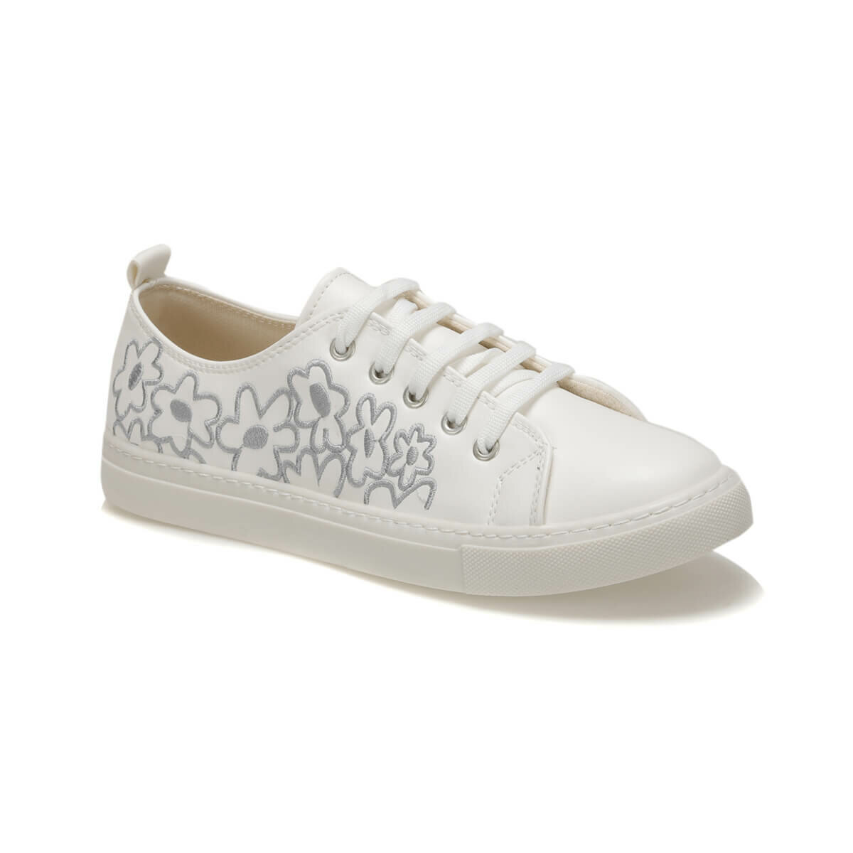 FLO CS18093B White Women Sandals Art Bella