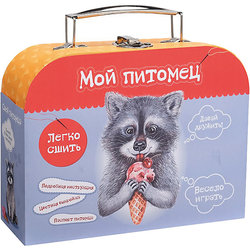 Set for My cozy cottage Sew a toy Raccoon