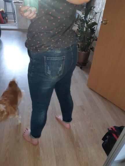 5Xl High Waist Jeans Women Vintage Plus Size Jeans Femme Harem Pants Loose Boyfriend Denim Jeans Streetwear Trousers Women photo review