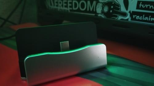 Cargador Estacion Base de carga no reversible USB tipo C  SYNC DOCK conector tipo/type gris compatible con Samsung LG Motorola