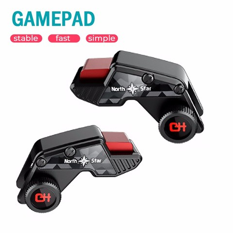 S8 PUBG Controller Game Gamepad Joystick L1 R1 Trigger Fast Shooting Free Fire Game Controller For iPhone Android Mobile Phone Pakistan