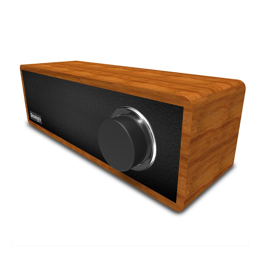 SL-50 Portable Wooden Retro Bluetooth 5.0 Speaker 8W Home Mini Wireless Audio Stereo Sound And Rich Bass Perfect For Home Party
