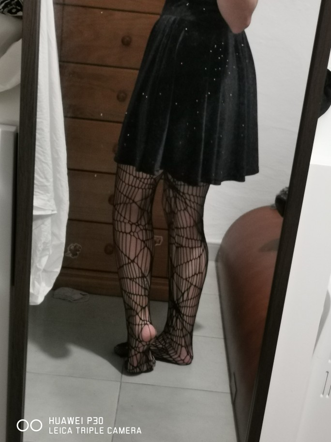 Halloween Spider Web Stockings photo review