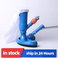 Piscina aspirador de pó limpeza desinfecção ferramenta cabeça sucção lagoa fonte spa piscina aspirador escova com alça ue/eua