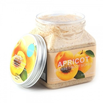 Body Scrub Apricot wokali apricot sherbet body scrub 350 ml скрабы и пилинги helen gold smooth body scrub bounty объем 150 г
