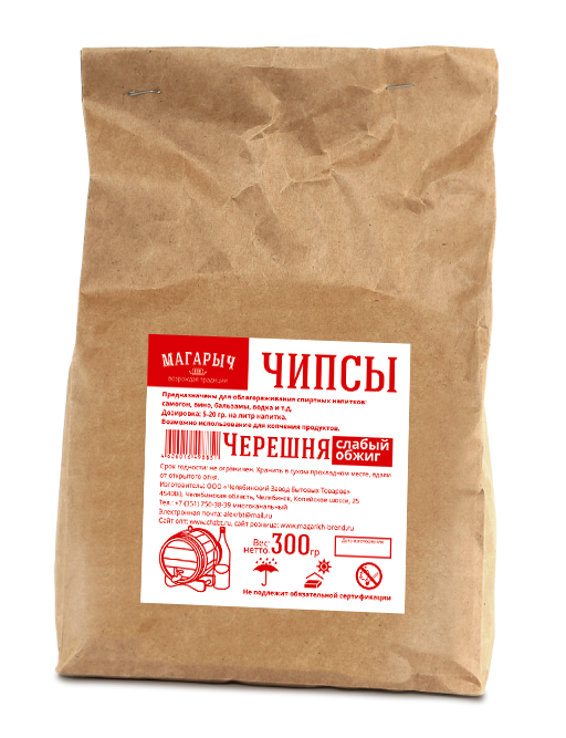 Chips Black Cherry 300 grams of wood Cherry for настоек home alcohol  wine  the distillate  vodka|Wine Making| |  - title=