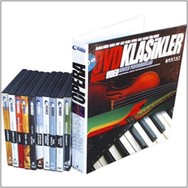 DVD Classics-Opera Fascicle Set + 10 DVD Gift Collective Size Publishing Group (TURKISH)