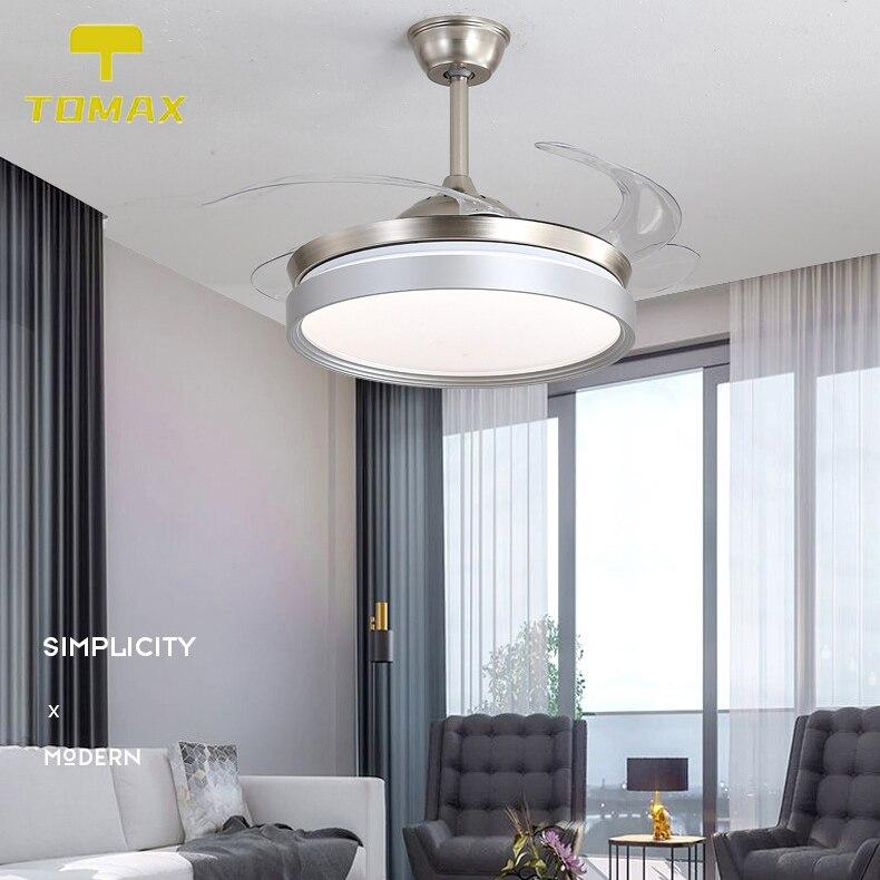 Modern Ceiling Fan Lamp For Living Room, Dining Room Ceiling Fan