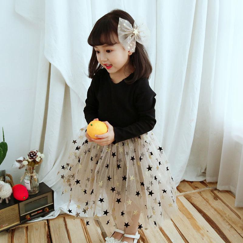 U111510b2b74248dfa8cec12e1d0f9dc26 Brand Girls Clothes Super Star Design Baby Girls Dress Party Dress For Children Girls Clothing Tutu Birthday 3-8 Years Vestidos