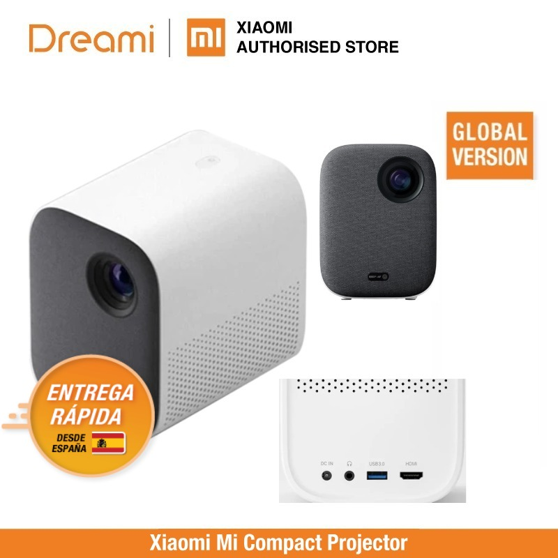 Mi Smart Compact Projector ( Portable 1920*1080 Support 4K Video WIFI Proyector LED Beamer TV Full HD For Home Cinema Office)