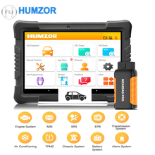 Humzor NexzDAS Pro OBD2 Car Scanner Diagnostic Tool for Auto ABS Airbag SAS Oil DPF EPB Reset ODB2 Support All Systems