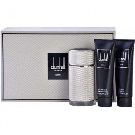 DUNHILL ICON EDP + SHOWER GEL 90ML + 90ML AFTERSHAVE