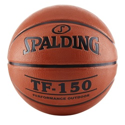 Spalding TF-150 OUTDOOR BASKETBALL Original SPALDING Standard Basketball NO. 6 Men Basketbol Ball  basketball Nba Eurolegue Ball