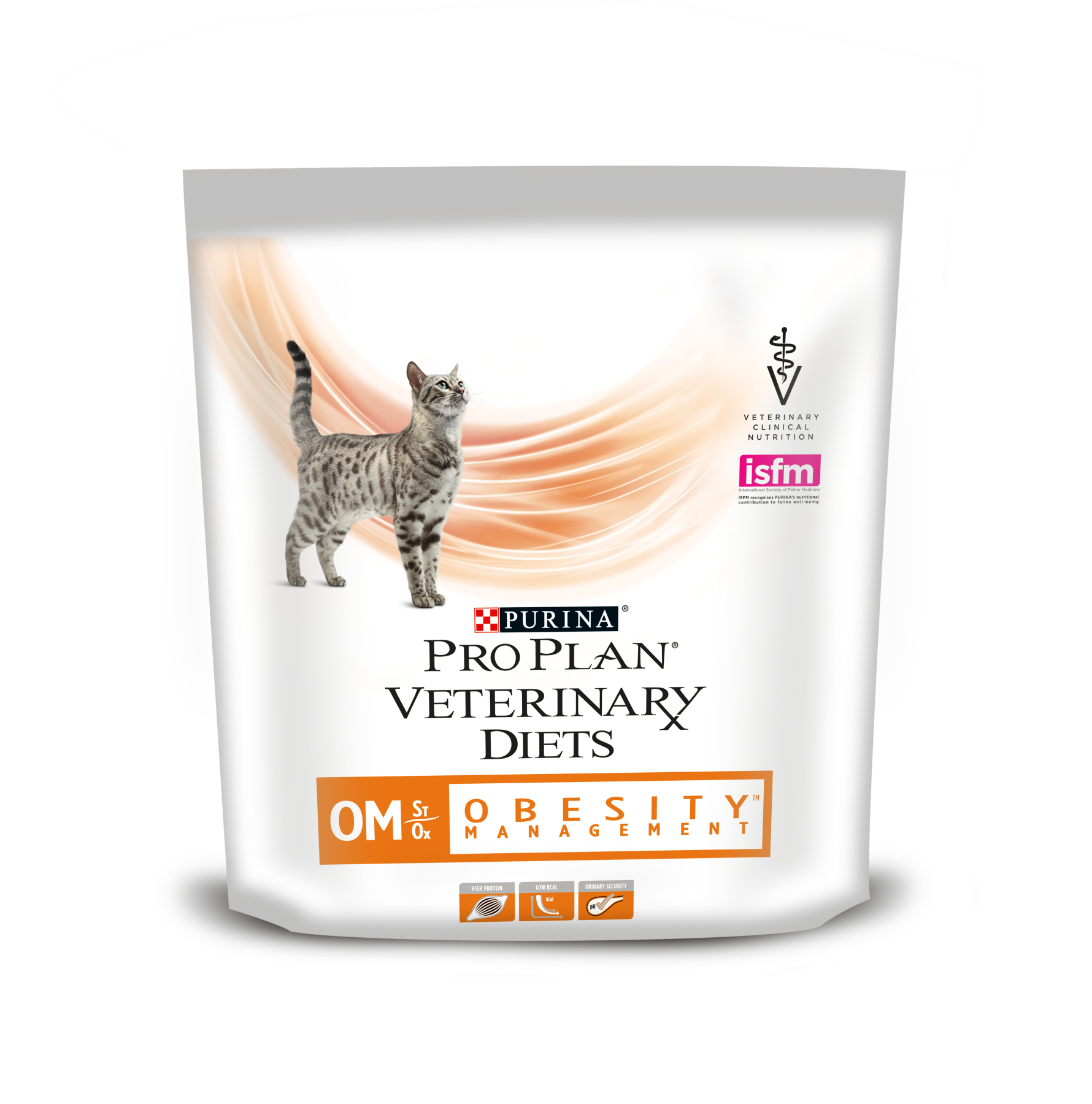 Pro Plan Veterinary Diets OM Obesity Management cat food at obesity, 350 gr image