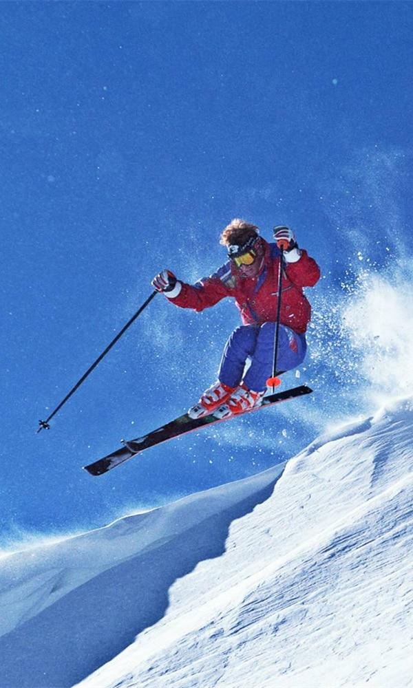 《越野滑雪》封面图片