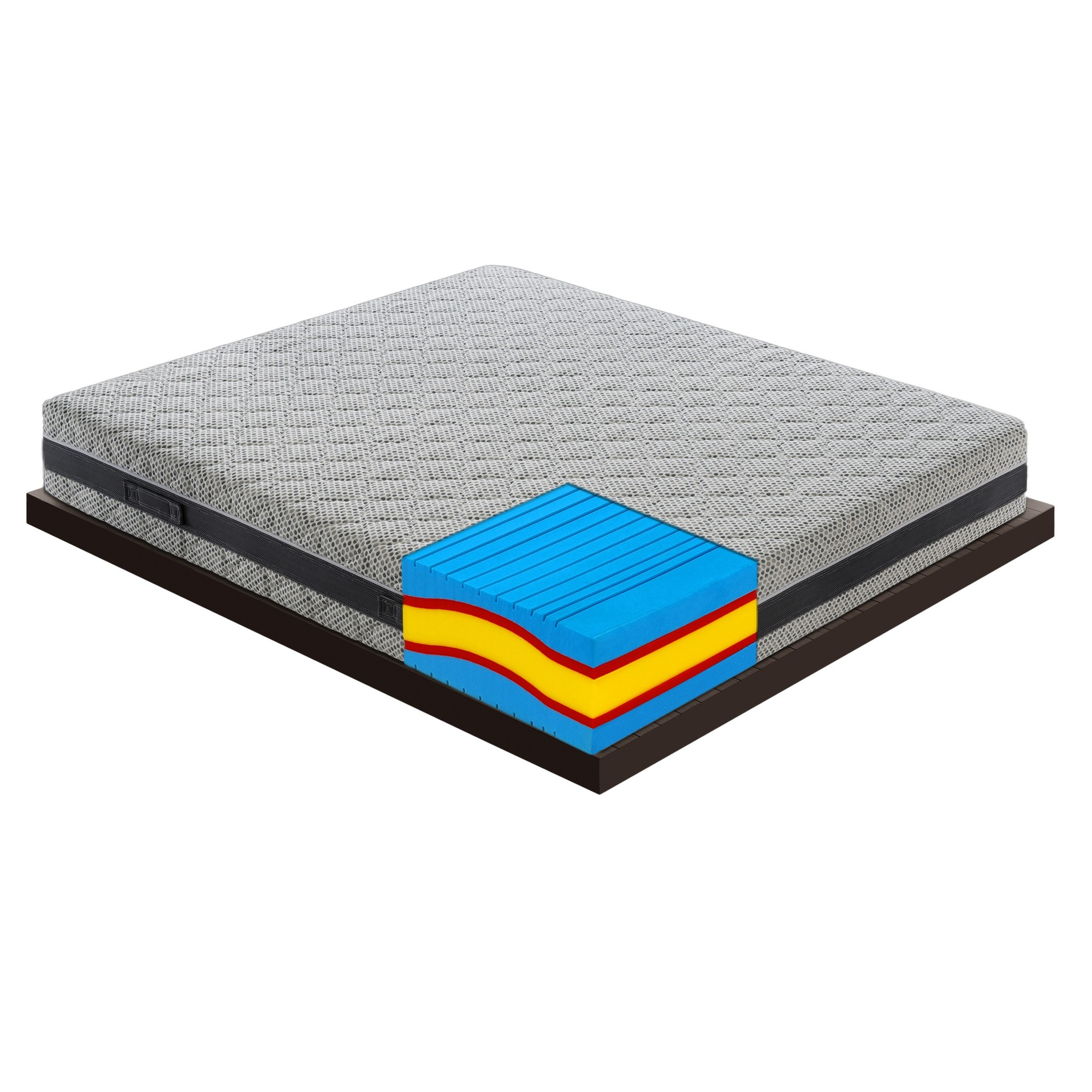 Foam Materassi.Materasso In Memory Foam Mymemory 5 Strati 7 Zone Differenziate