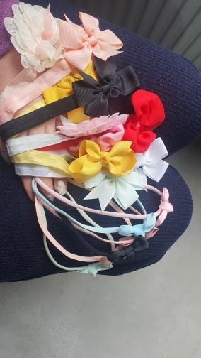 baby girl headband Infant hair accessories cloth Tie bows Headwear tiara Gift Toddlers bandage Ribbon newborn headwrap