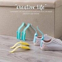 2 pièces corne de chaussure paresseux unisexe usure corne de chaussure Profession pratique aide chausse-pied chaussure facile à enfiler et à enlever