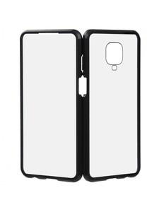 Черный Магнитный чехол для Xiaomi Redmi Note 9 Pro