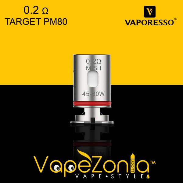 RESISTENCIA GTX 0.2 Ω MESH COIL VAPORESSO TARGET PM 80