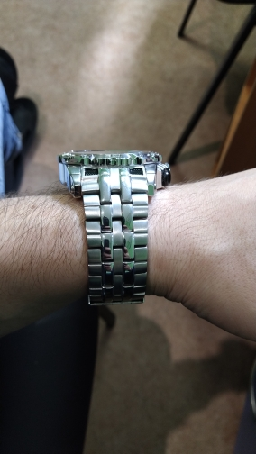 -- Mecânico Esqueleto Relógio