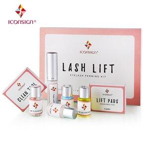 Image 1 - 10 sets/lot Professional Mini Eyelash Perming Kit Lashes Lift Cilia Tools Perming Sets Rods Y Brushes Beauty Makeup Tools