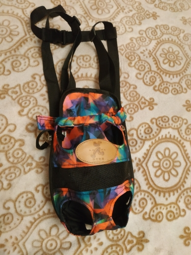 Small Dog Carrier   Puppy Backpack   Dog Front Carrier   Legs Out Front Pet Dog Carrier photo review