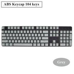 104 Keys ABS Backlight Keycap Universal Axis For Ikbc Cherry MX Annie Mechanical Keyboard(Only Keycap No Keyboard)