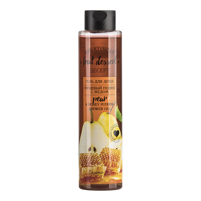 Fruit Dessert Shower Gel Pear Pudding With Honey 400g