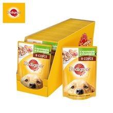 Влажный корм для взрослых собак всех пород Pedigree с кро