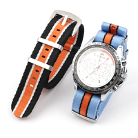 Nylon Uhr Band 22mm Military Nato Stil Uhr Strap Ersatz Uhrenarmbänder Anzug für Daniel Wellington Strap armband Armband