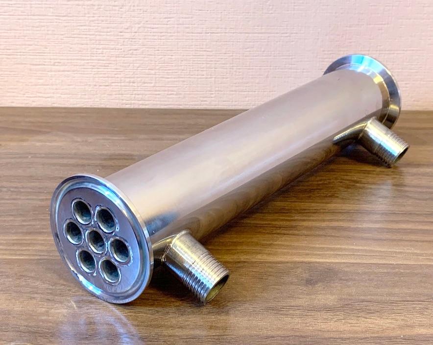High Power Dephlegmator  Clamp 2
