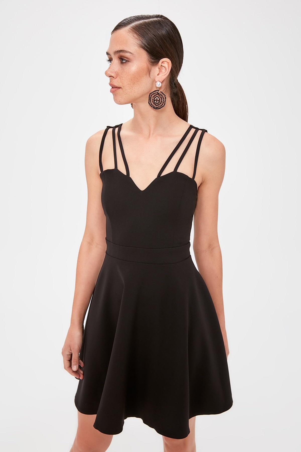 Trendyol Bias Tape Detail Dress TPRSS19FZ0401