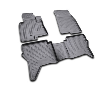 Floor mats for Mitsubishi Pajero IV(V80) 3D 2006 - car interior protection floor from dirt guard car styling tuning decoration