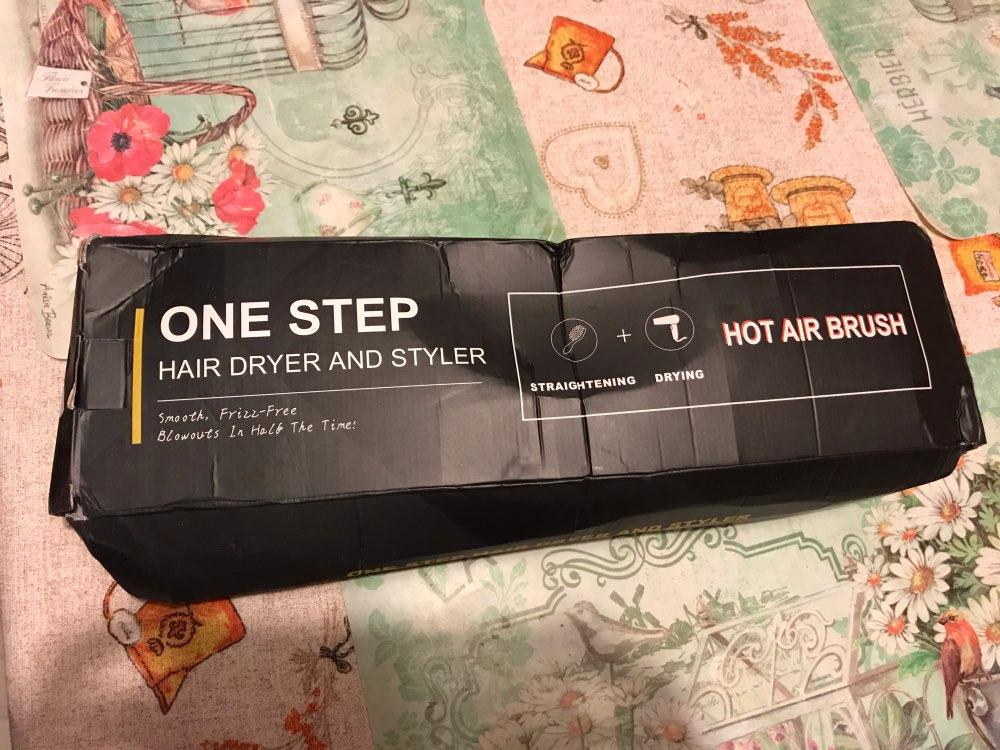 Escova Secadora One Step, Seca, Alisa, Modela e Hot Hair photo review