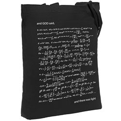 Let there be light canvas bag, unisex, eco-friendly shoulder bag, fashion shopper, roomy tote bag, reusable bag, Shopper, Shopper bag, shopper cotton